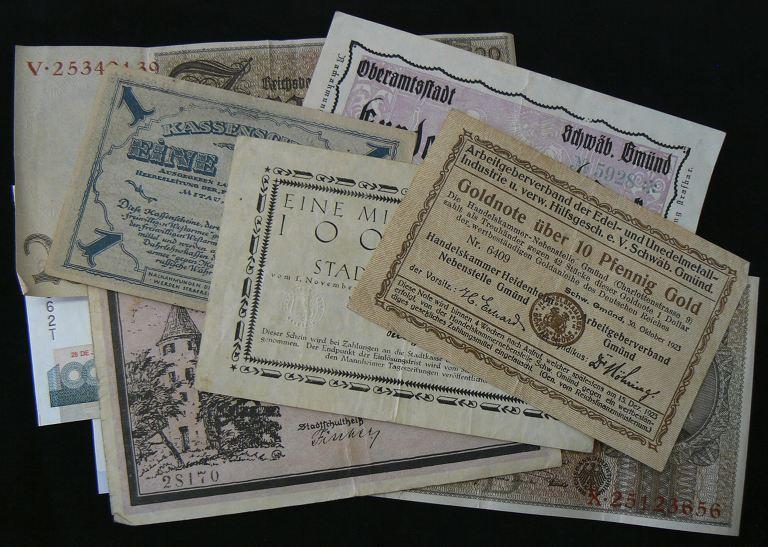 Banknoten Ankauf Stuttgart